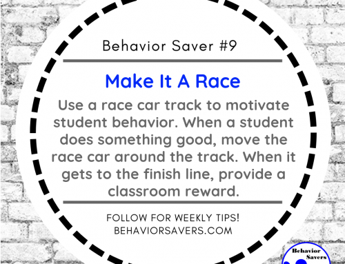 Behavior Saver #9