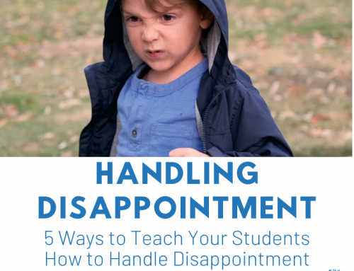 Social Skill: Handling Disappointment
